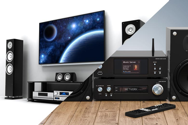 Home theater vs. music system